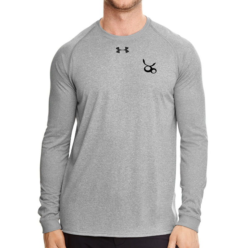 Jemicy LC Mens Ua Locker Tee Long Sleeve -  True Gray
