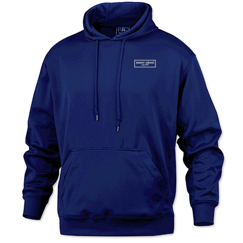 Jemicy EST. Baw Adult Pullover Sweatshirt - Royal