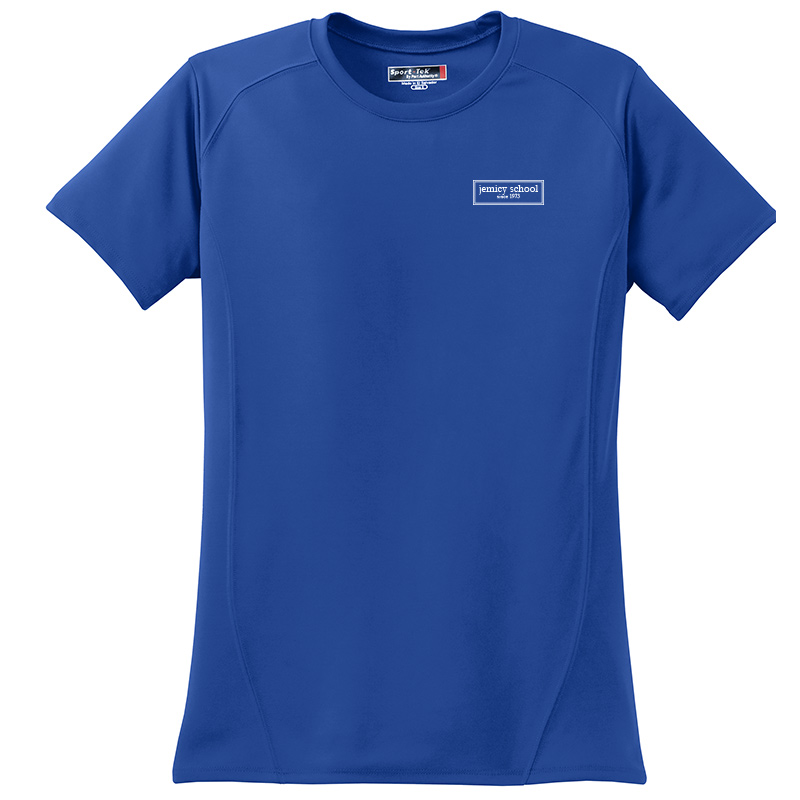 Jemicy EST. Sport-Tek® Dry Zone® Ladies Short Sleeve Raglan T-Shirt - Royal