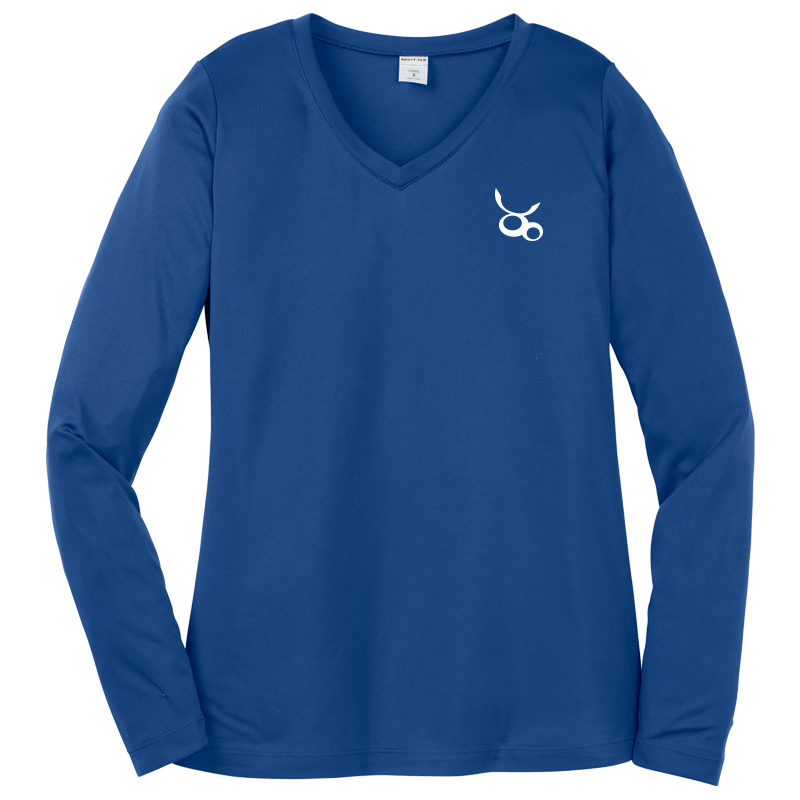 Jemicy LC Sport-Tek® Dry Zone® Ladies Long Sleeve Raglan T-Shirt - Royal