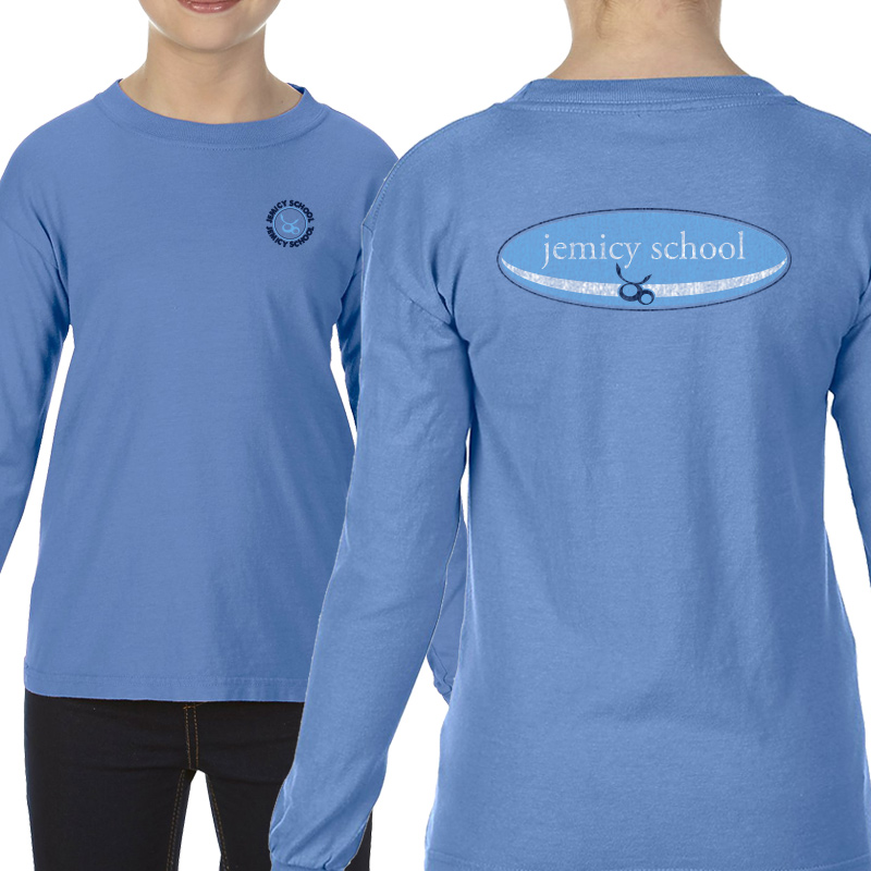 Jemicy Surf Youth  Long Sleeve T-Shirt - Flo Blue