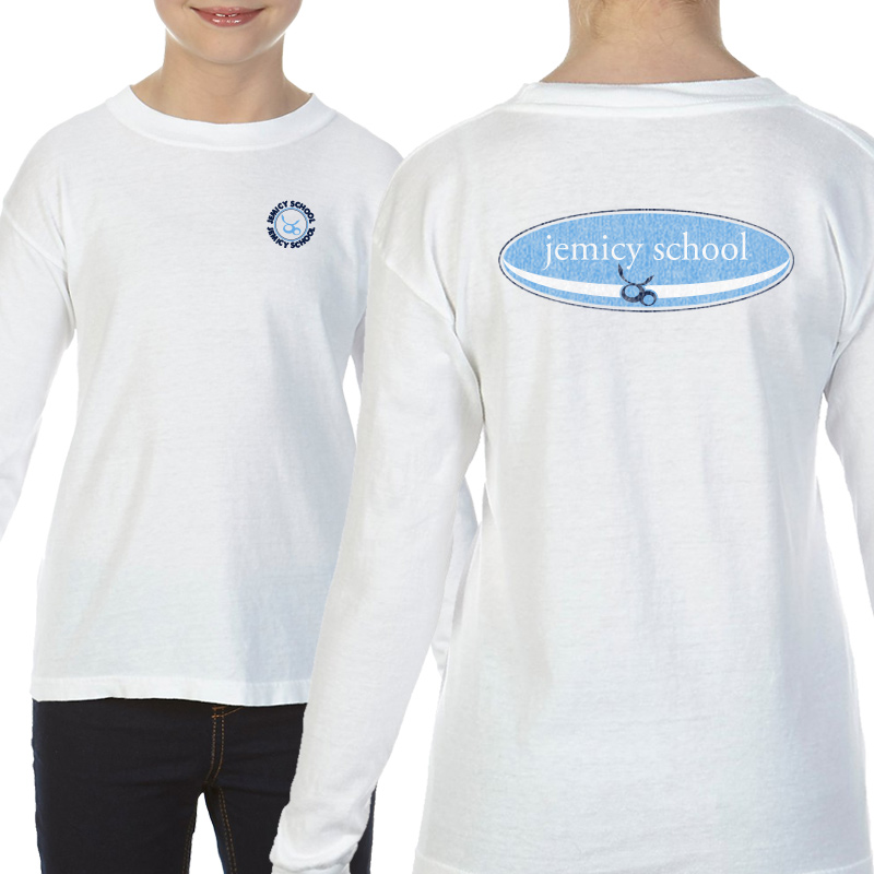 Jemicy Surf Youth  Long Sleeve T-Shirt - White