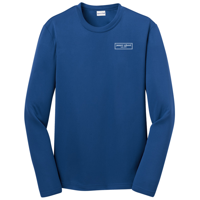 Jemicy EST. Sport-Tek® Dry Zone® Youth Long Sleeve Raglan T-Shirt - Royal