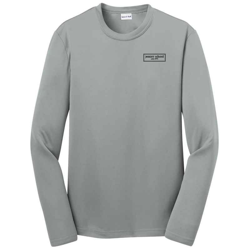 Jemicy EST. Sport-Tek® Dry Zone® Youth Long Sleeve Raglan T-Shirt - Silver