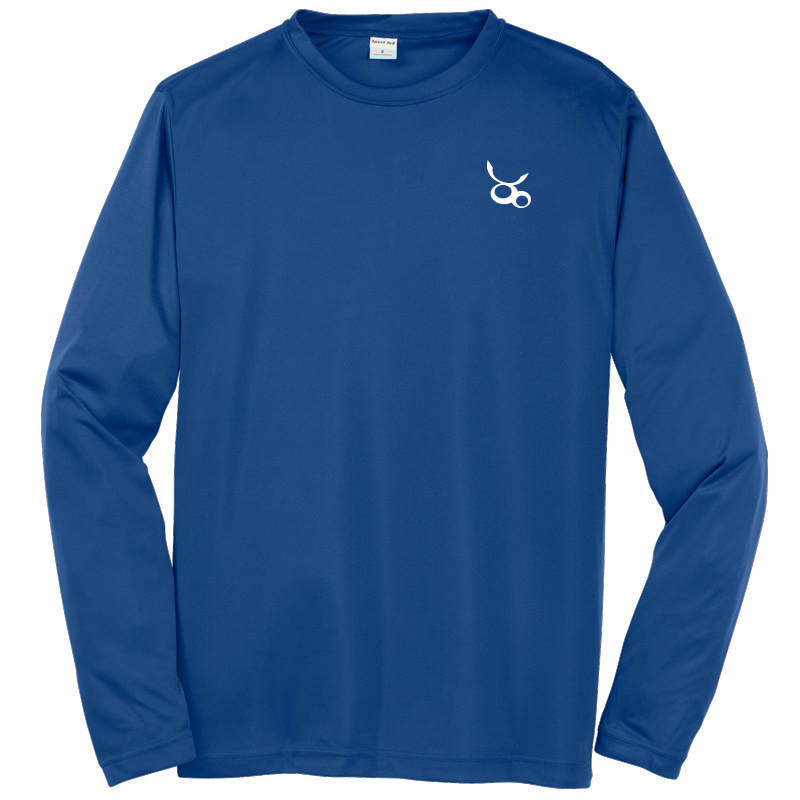 Jemicy LC Sport-Tek® Dry Zone® Long Sleeve Raglan T-Shirt - Royal