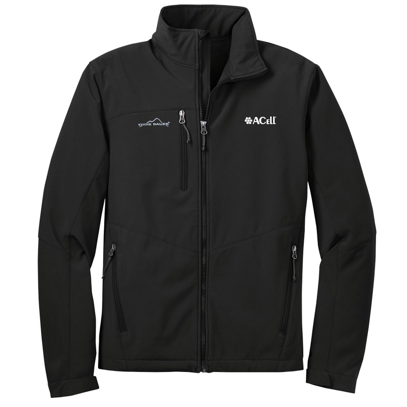 Acell Eddie Bauer Soft Shell Jackets - Black