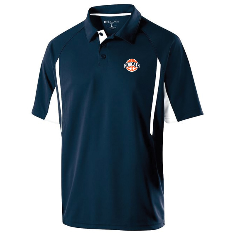 BAHS Basketball Men's Polo - Navy/White