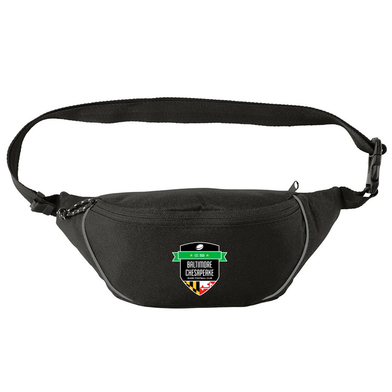 Baltimore Chesapeake Rugby  Port Authority Hip Pack :Black