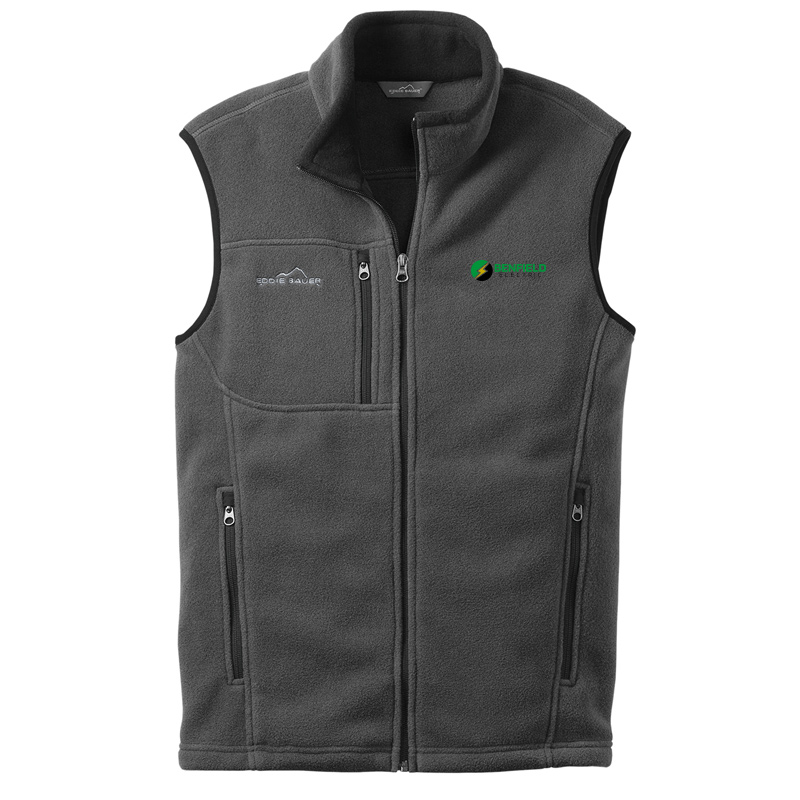 Benfield Electric Fleece Vest -Grey Steel