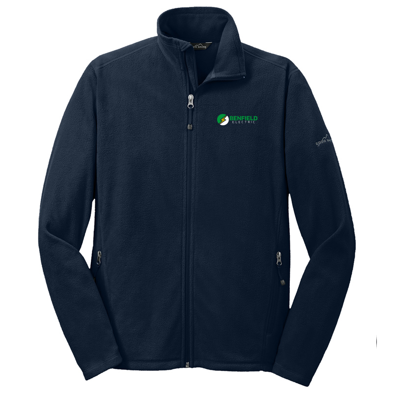 Benfield Electric Full-Zip Microfleece Jacket -Navy