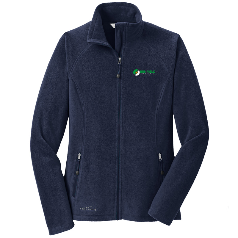 Benfield Electric Ladies Full-Zip Microfleece Jacket - Navy