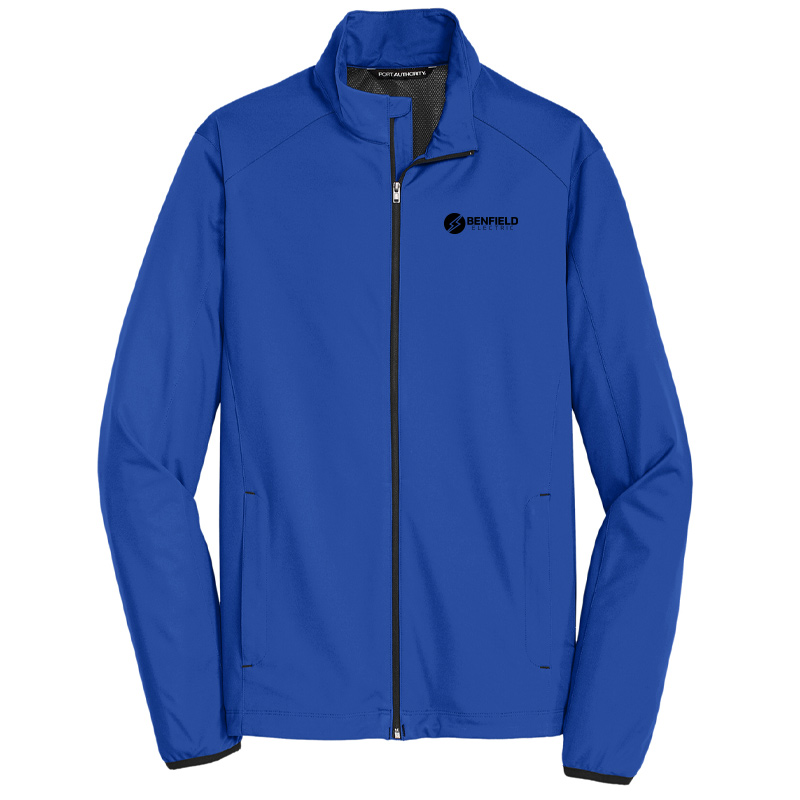 Benfield Electric Active Soft Shell Jacket -True Royal