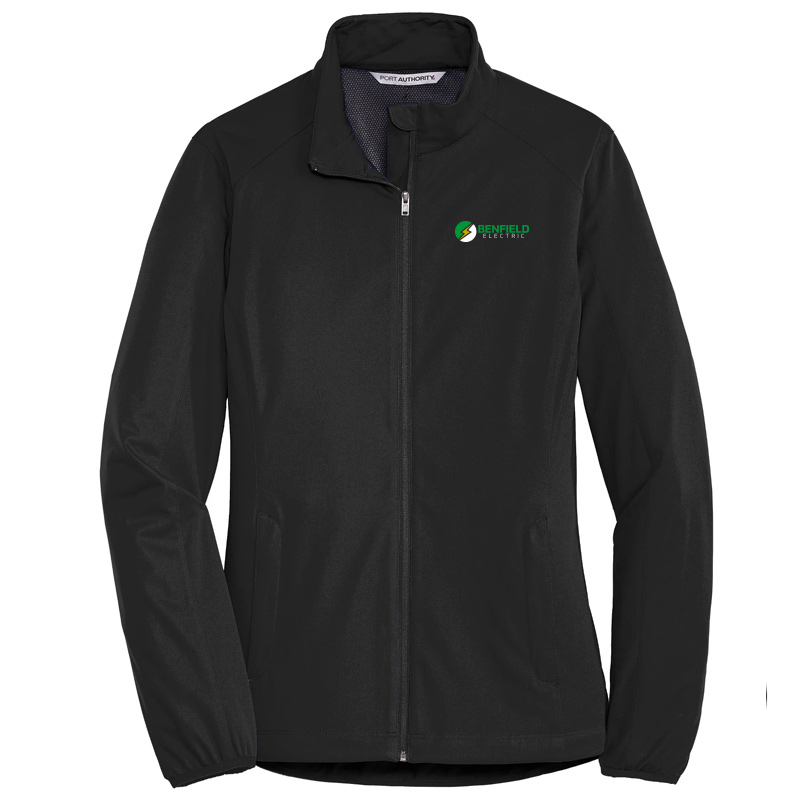 Benfield Electric Ladies Active Soft Shell Jacket -Deep Black