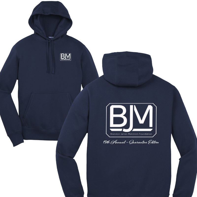 BJM Quarantine Edition The North Face ® Pullover Hoodie - NW Taupe Green Heather
