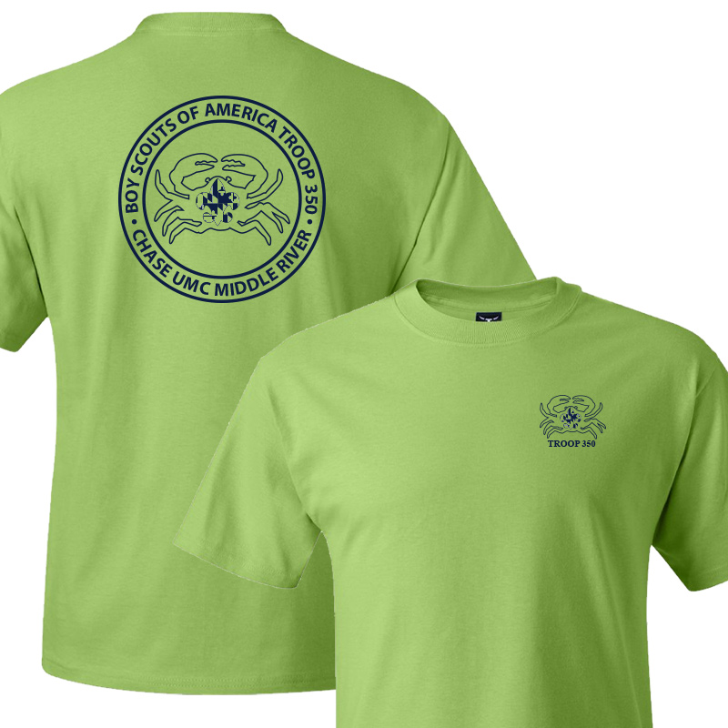 BSA 350 Short Sleeve T-Shirt - Lime