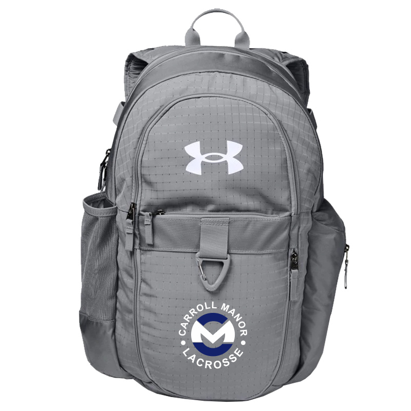CMRC Lax  UA Lacrosse Backpack - Steel