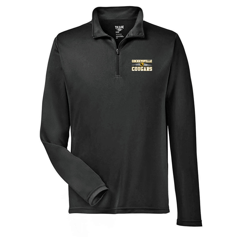 CMS Team 365  Performance Quarter-Zip - Black