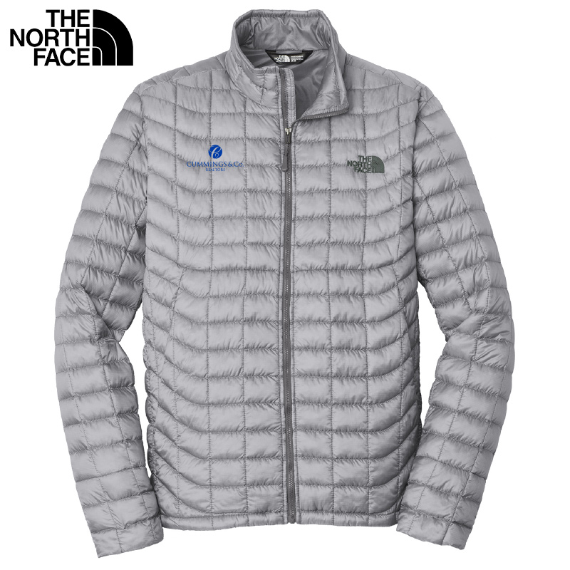 Cummings & Co The North Face® Mens ThermoBall™ Trekker Jacket - Mid Grey