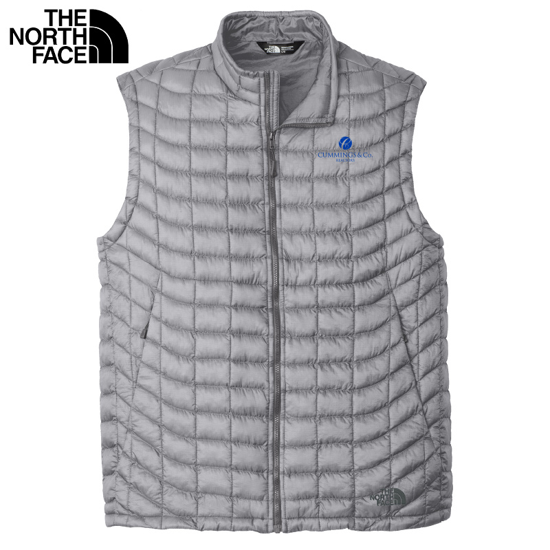 Cummings & Co The North Face® Mens ThermoBall™ Trekker Vest - Mid Grey