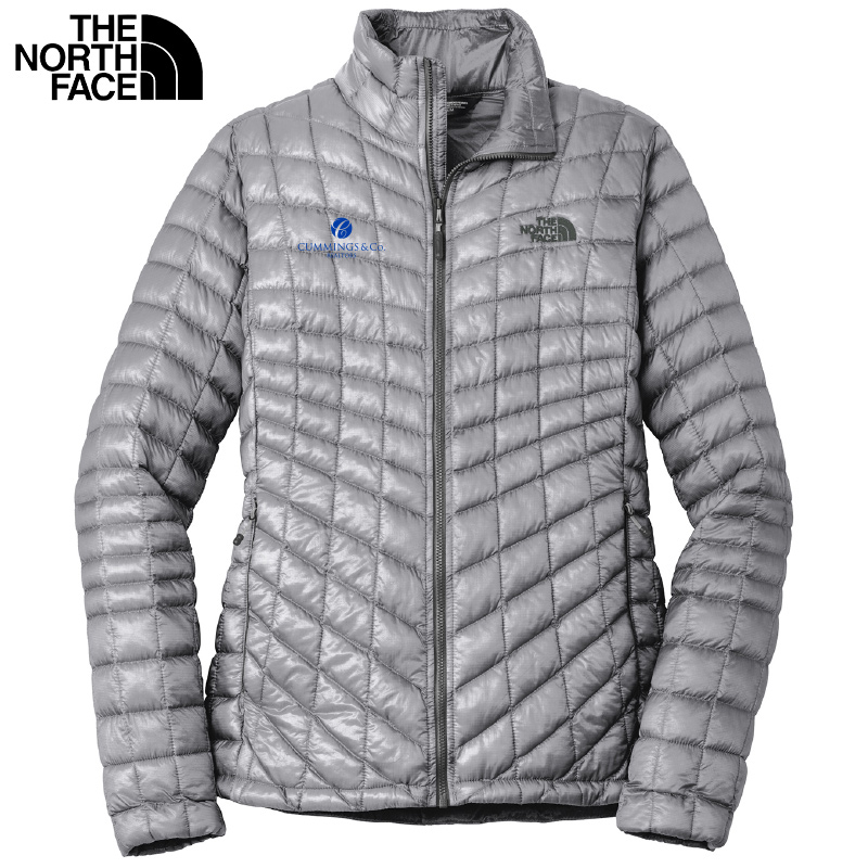 Cummings & Co The North Face® Ladies ThermoBall™ Trekker Jacket - Mid Grey