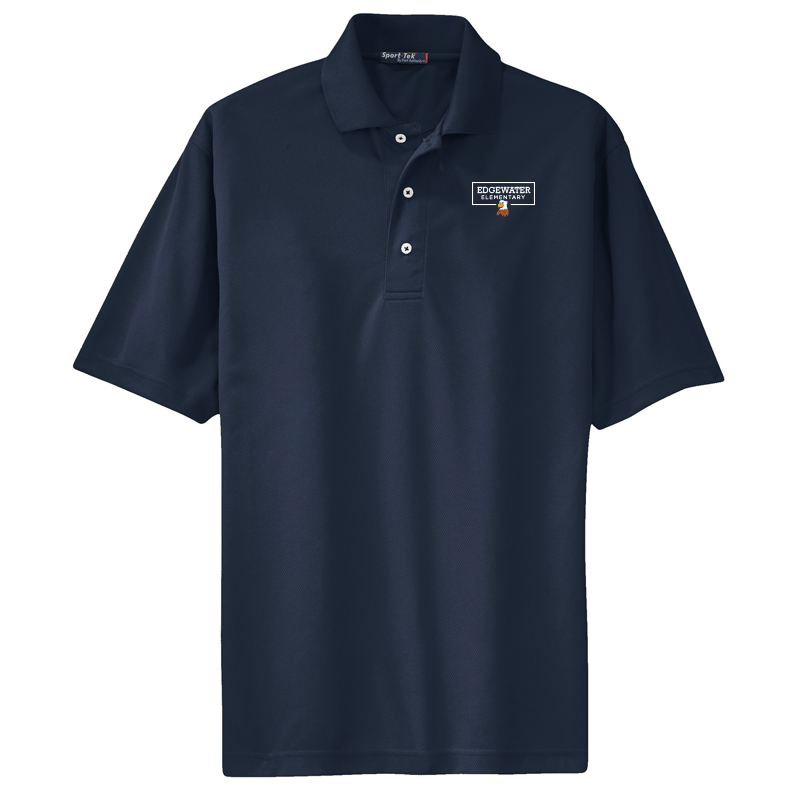 Edgewater  Left Chest  Mens Dri-Mesh® Polo - Navy