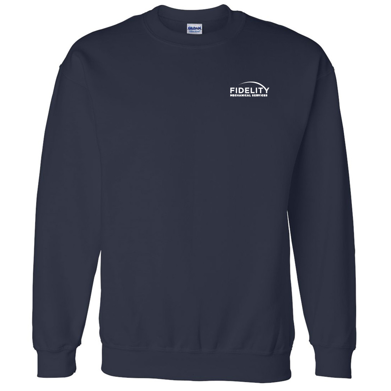 Fidelity Mechanical Crewneck Sweatshirt - Navy