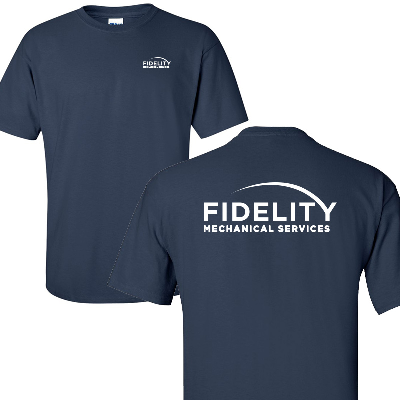 Fidelity Mechanical Short Sleeve Tee - Navy