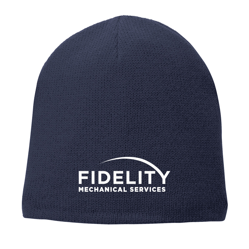 Fidelity Mechanical Fleece Lined Beanie - Navy