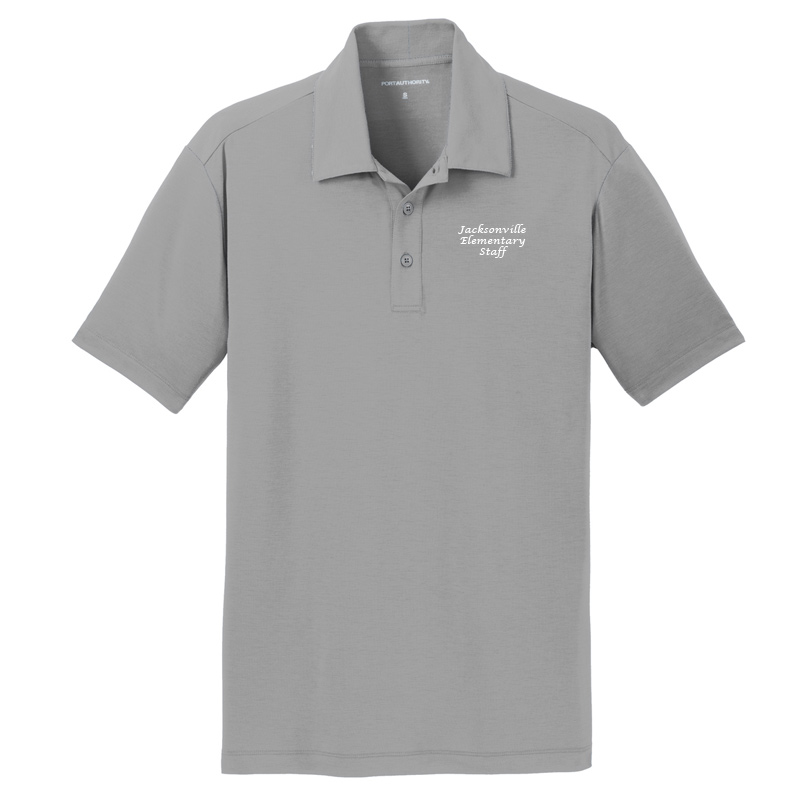JES  Cotton Touch Polo - Frost Grey