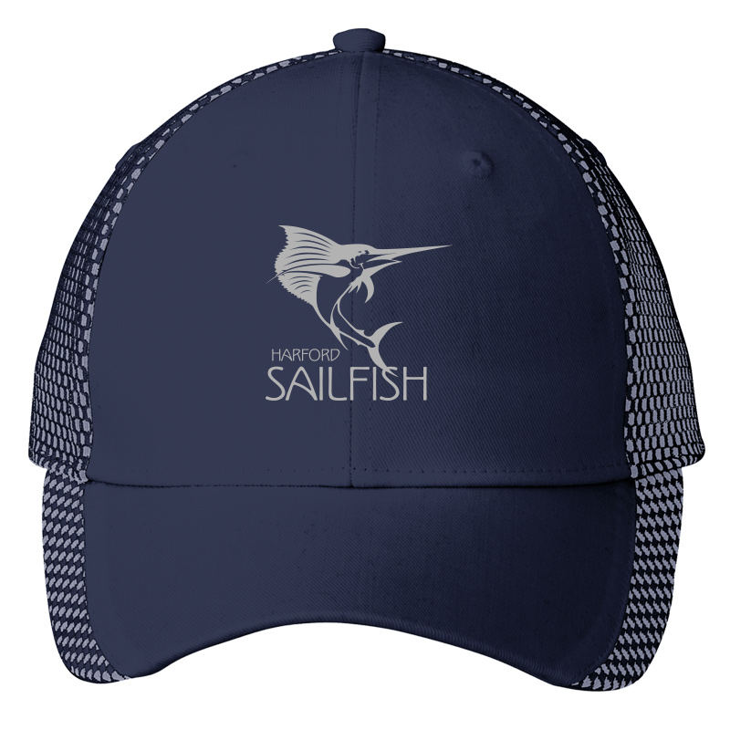 Harford Sailfish Two Toned Mesh Back Cap - Navy/White