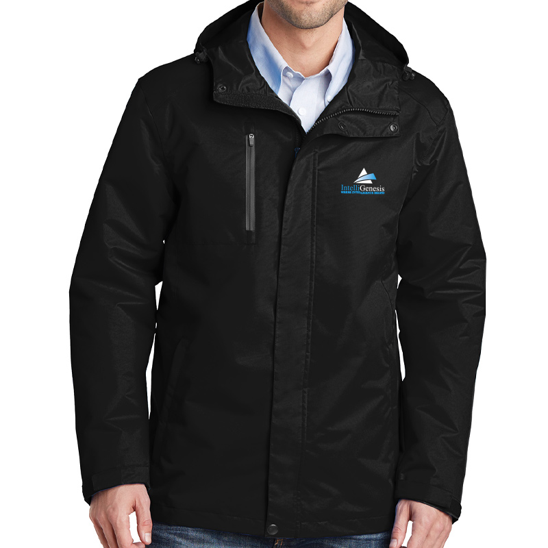 IntelliGenesis Port Authority  All Conditions Jacket - Black