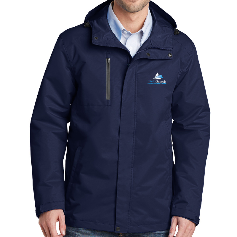 IntelliGenesis Port Authority  All Conditions Jacket - Navy