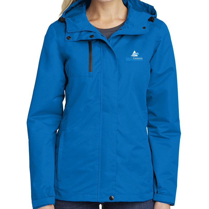 IntelliGenesis Port Authority Ladies All Conditions Jacket - Royal
