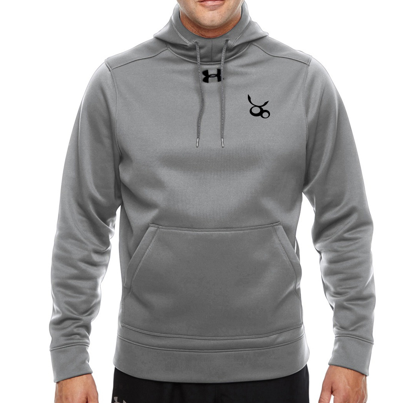Jemicy LC Ua Mens Storm Fleece Hoodie  -  True Gray