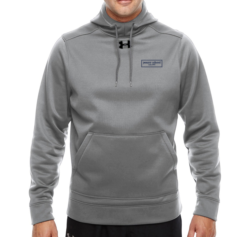 Jemicy EST. Ua Mens Storm Fleece Hoodie  -  True Gray