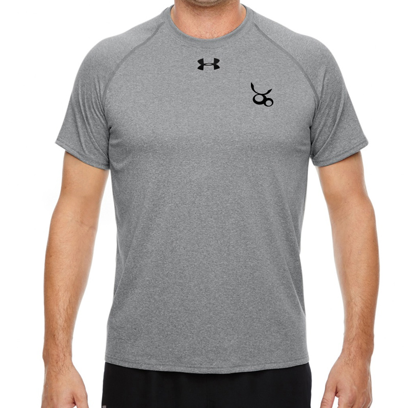 Jemicy LC  Under Armour Men'S Locker T-Shirt -  True Gray