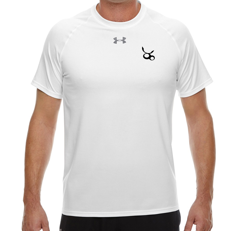 Jemicy LC  Under Armour Men'S Locker T-Shirt -  White