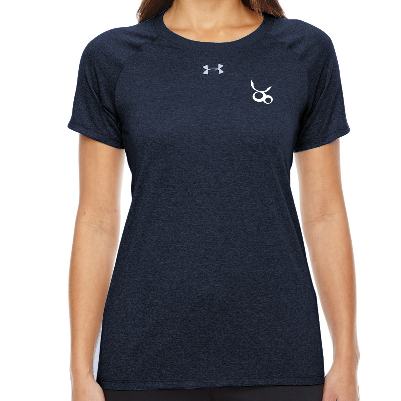 Jemicy LC  Under Armour Ladies' Locker T-Shirt - Navy