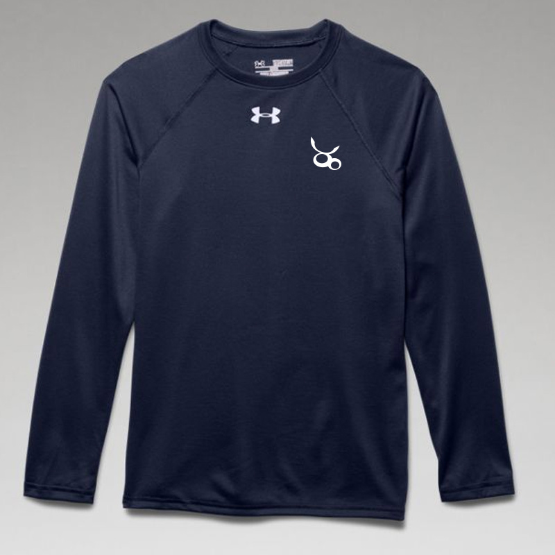 Jemicy LC Boys Ua Locker Tee Long Sleeve - Navy