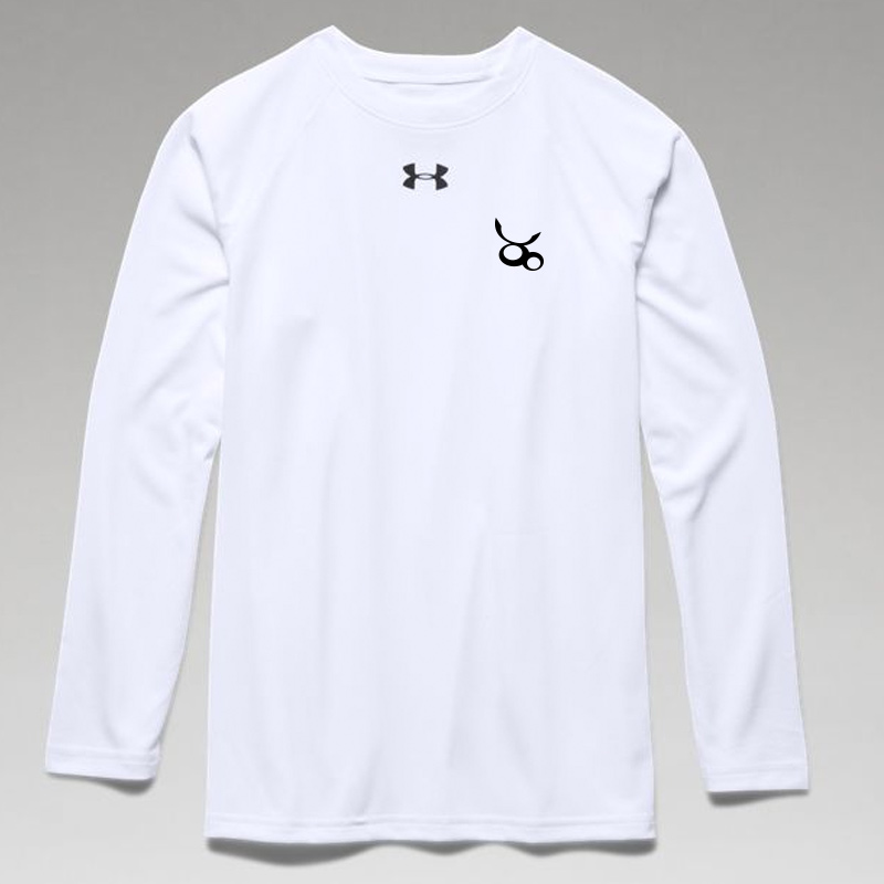 Jemicy LC Boys Ua Locker Tee Long Sleeve -  White