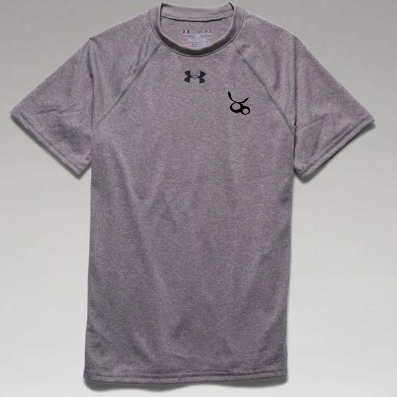 Jemicy LC  Under Armour Youth  Locker T-Shirt -  True Gray