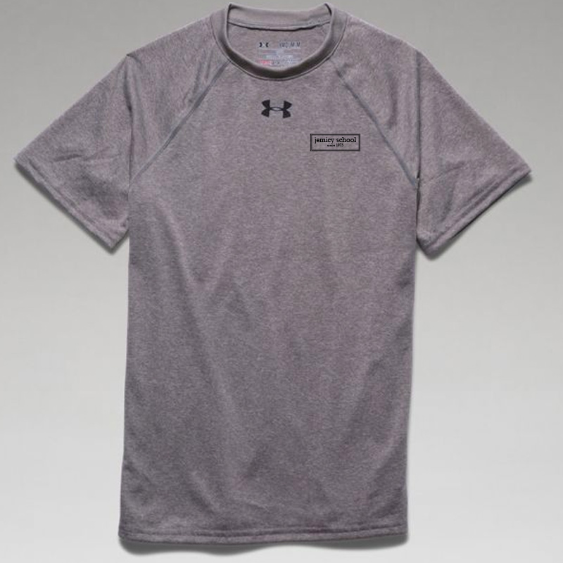 Jemicy EST.  Under Armour Youth  Locker T-Shirt -  True Gray