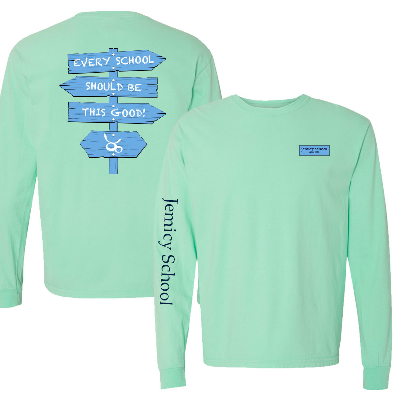 Jemicy Comfort Colors Long Sleeve Pocket Adult -  Island Reff