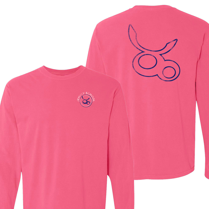 Jemicy Spring Logo L/S - Neon Pink