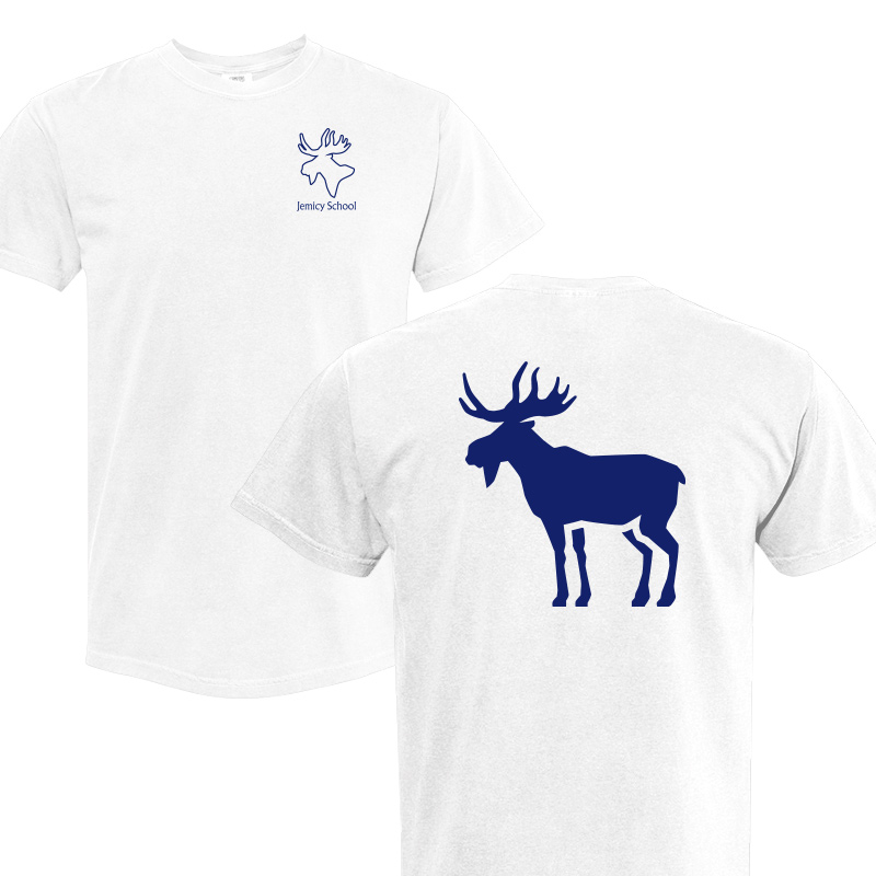Jemicy Moose Comfort Colors S/S - White