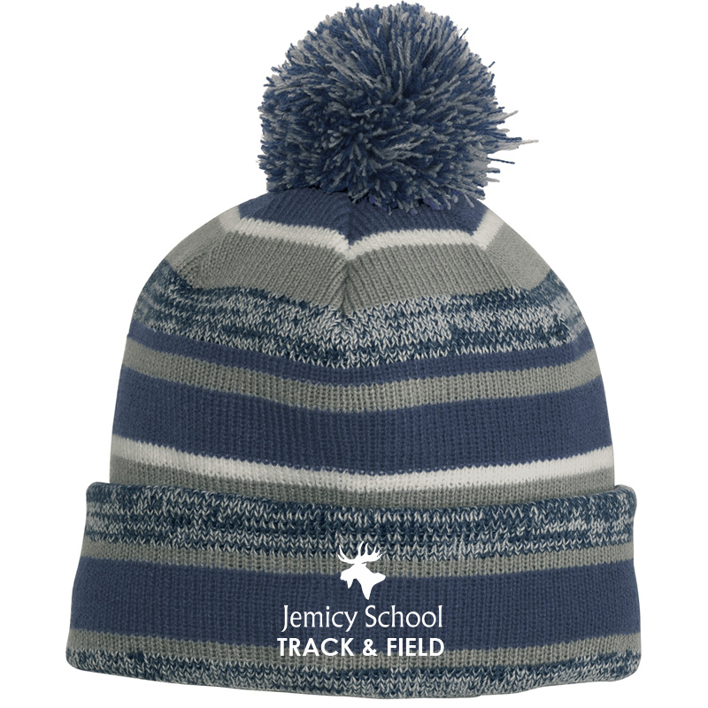 Jemicy Track and Field  Sideline Beanie - Navy/Graphite