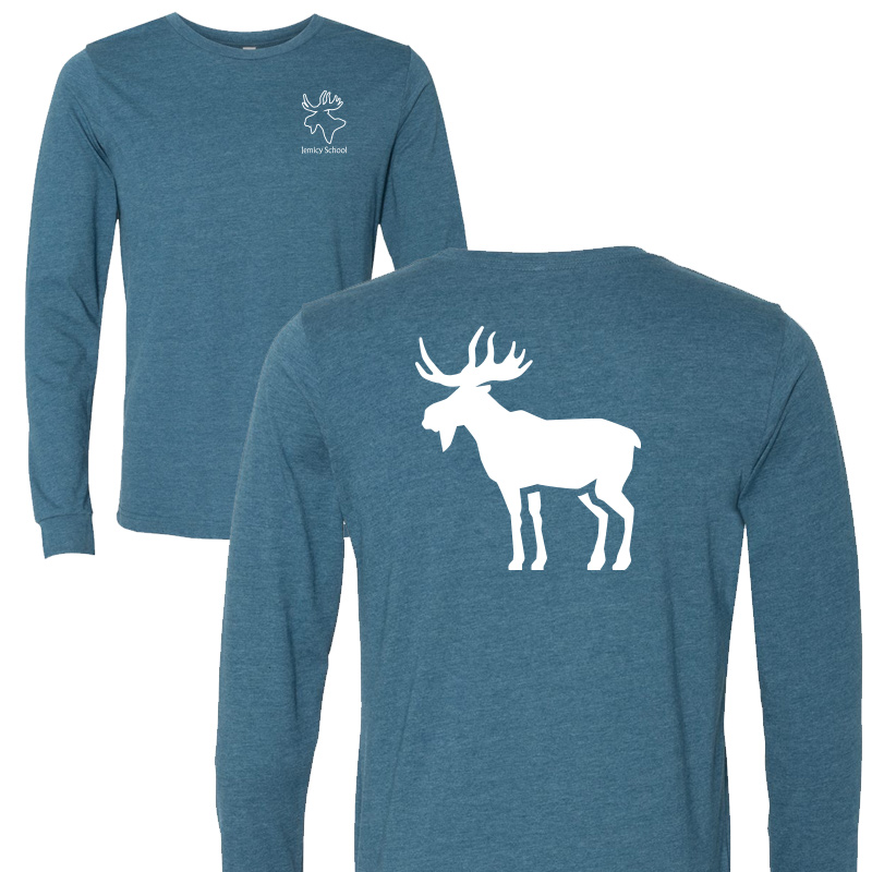 Jemicy Moose L/S - Heather Teal