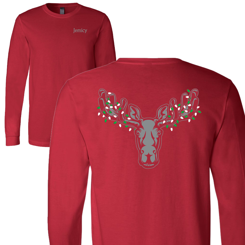 Jemicy Xmas Moose - Red