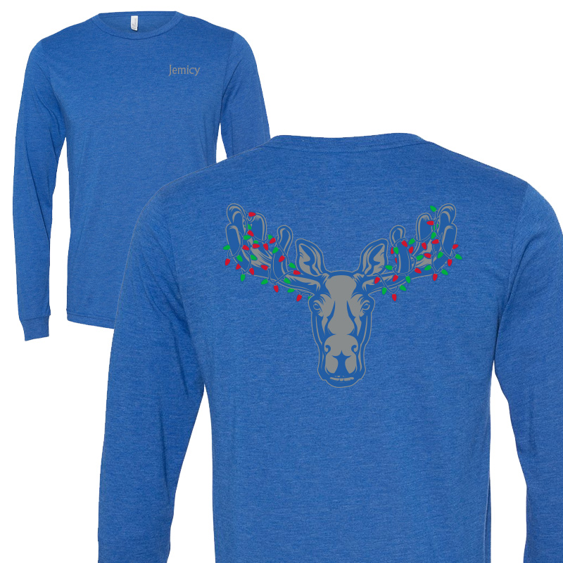 Jemicy Xmas Moose - Royal Heather
