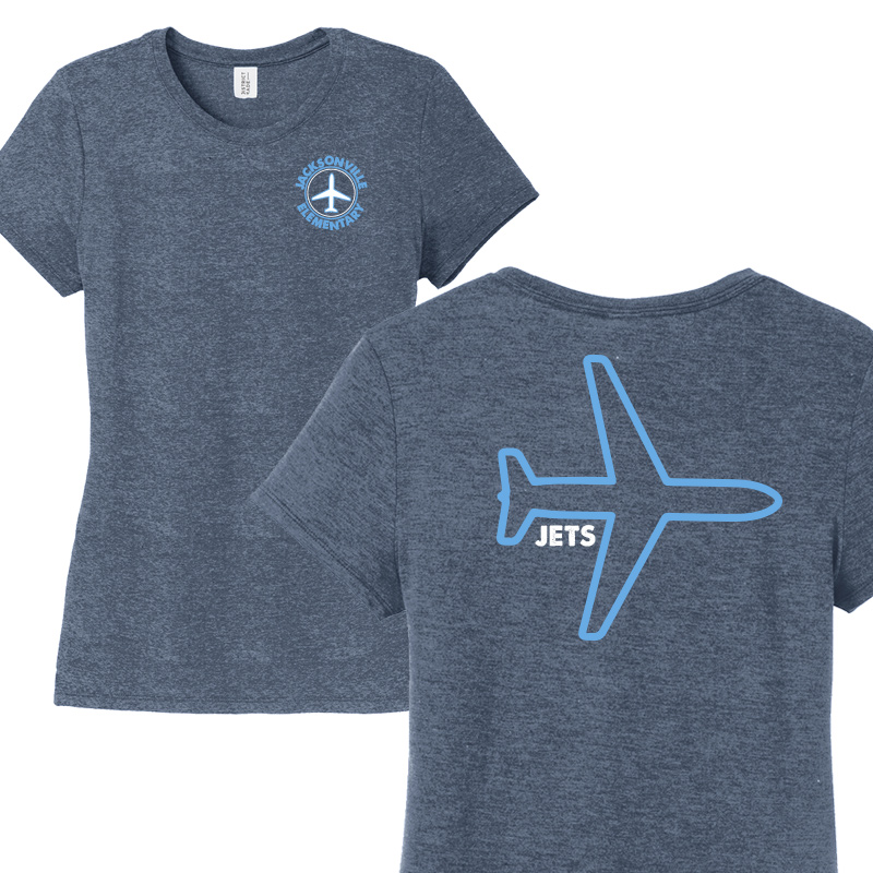 JES Plane Ladies Short Sleeve - Navy Frost